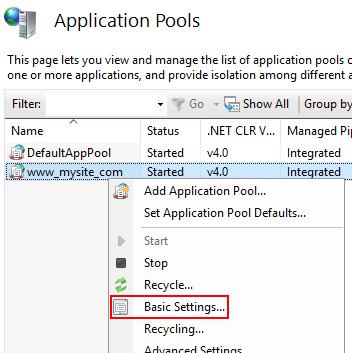 Host ASP NET Core on Windows with IIS